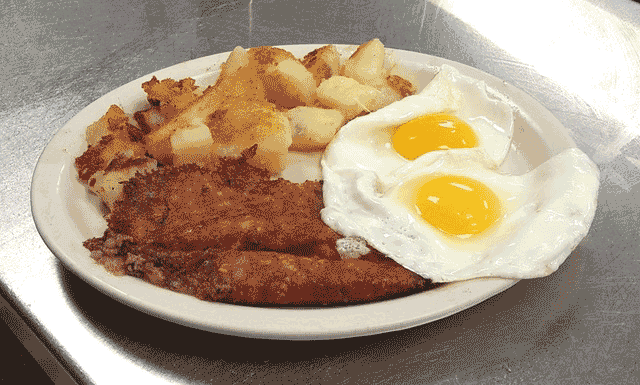Hash Browns, Eggs, and Home Fries
